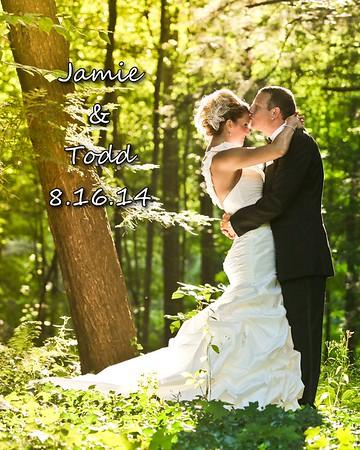 Jamie & Todd (Todd's Mom) 8x10 Wedding Album
