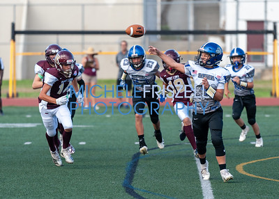 Ramona Bulldogs vs. Point Loma Pointers JV Football, 9/22/18