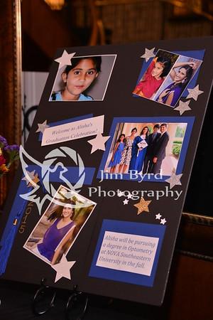 Alisha Trivedi graduation party