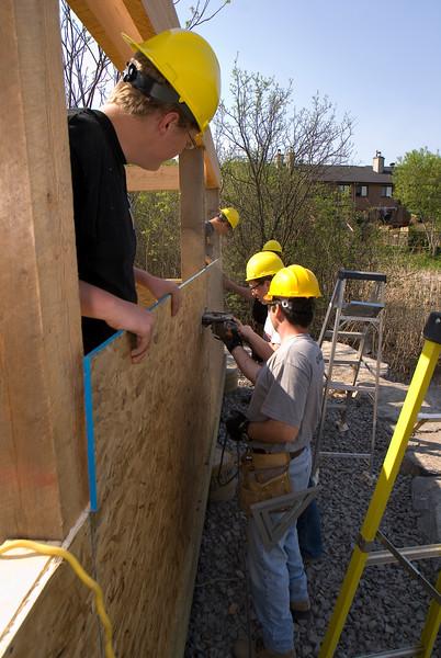 Macoun Marsh Ottawa Ontario outdoor classroom build 07.05