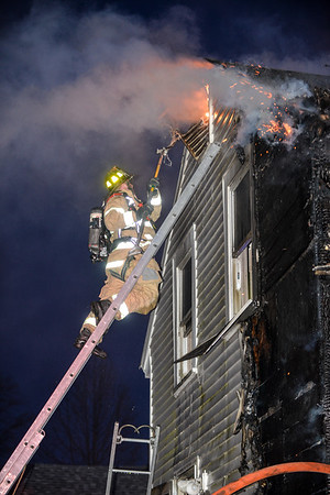 2 Alarm Structure Fire - Bligh St, Ayer, Ma - 2/22/20