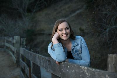 Justine Senior Portraits Toro Park 10-8-17
