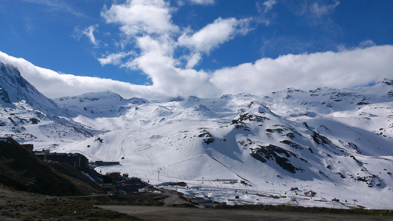 Descent from Val Thorens