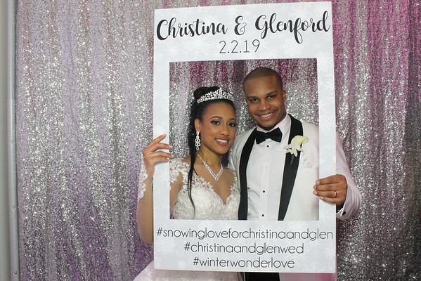 Christina and Glenford Wedding
