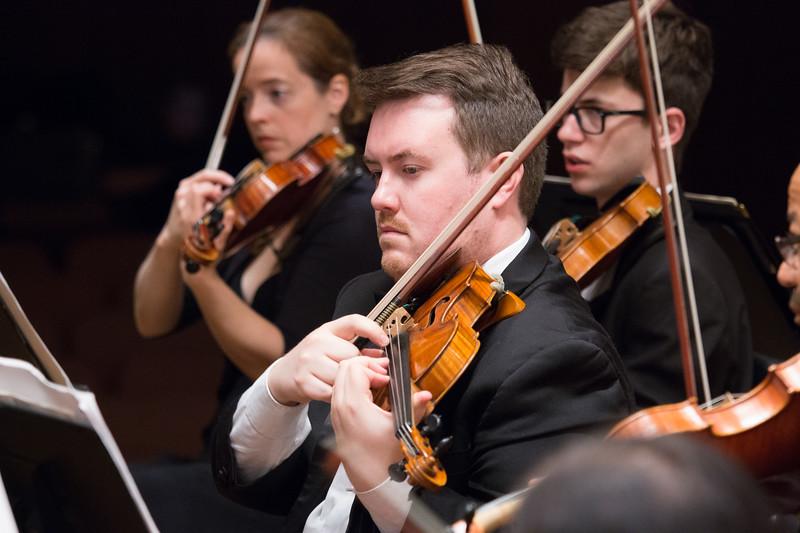 Colin Sorgi, concertmaster -- Hopkins Symphony Orchestra, April 2017