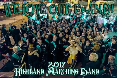 2017 Highland Marching Band