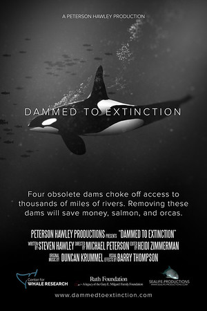 Dammed to Extinction Poster and Flyers