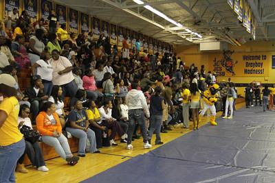 JCSU Homecoming Pep Rally 10-14-11 - By Fred Braziel