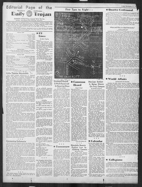 Daily Trojan, Vol. 27, No. 39, November 15, 1935