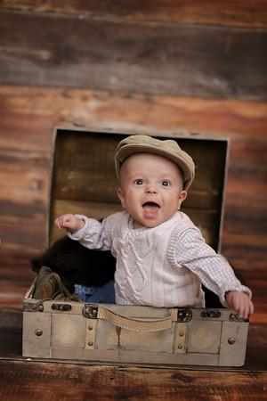 Baby Liam 6 Months