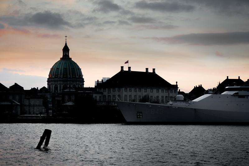 Naval patrol vessel