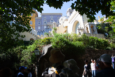 SINTRA CASTLE PORTUGAL