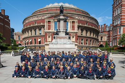 Barnardos Concert 3rd July 2014 RAH. Group shots