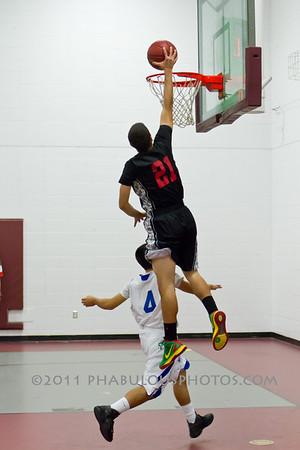 Colonial @ Cornerstone Charter Boys Varsity Basketball - 2012