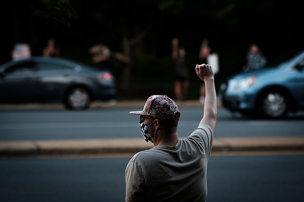 Reston Demonstration of Solidarity for George Floyd