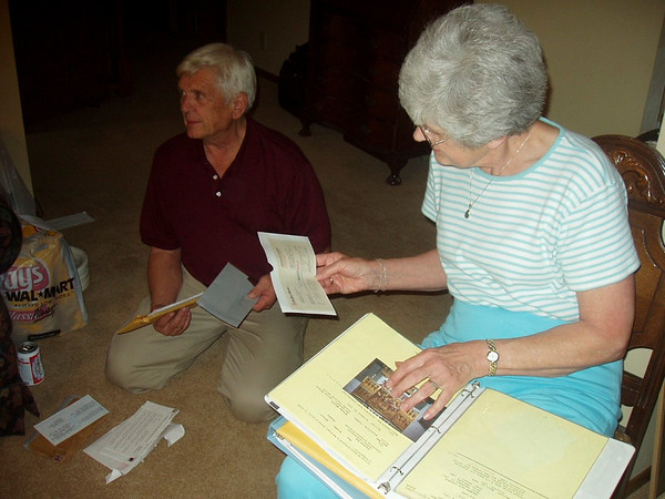 June 14, 2005 -- Aunt Ellie Funeral Service & Burial.