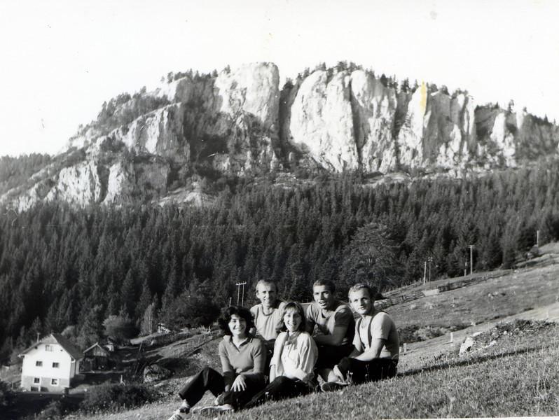 Romanija - Crvene stijene - September 1977.