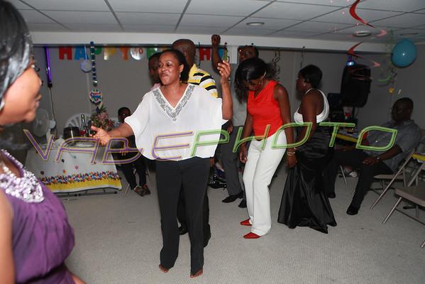 Mireille d'Almeida Surprise Birthday Party