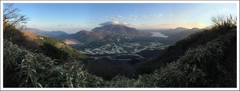 Kintoki Mountain with the iPhone