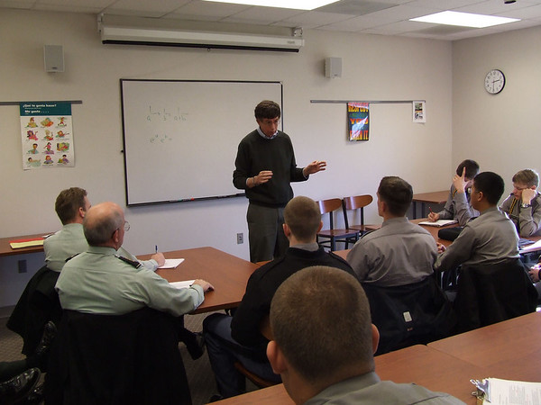 Local Professor speaks to Cadets