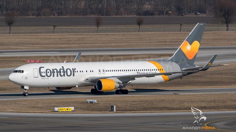 Condor / Boeing B767-330(ER) / D-ABUD