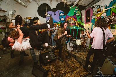 The Water Colors, Dénudés, Period Bomb, and Problem Child at Fuzz Baby Records