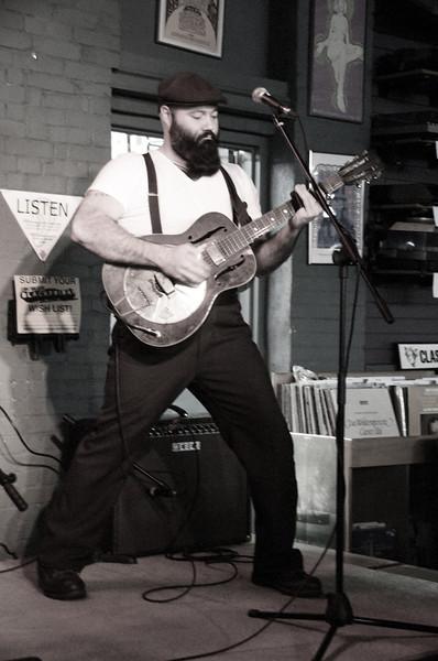 2012 Reverend Peyton's Big Damn Band at Record Exchange 10.30.12