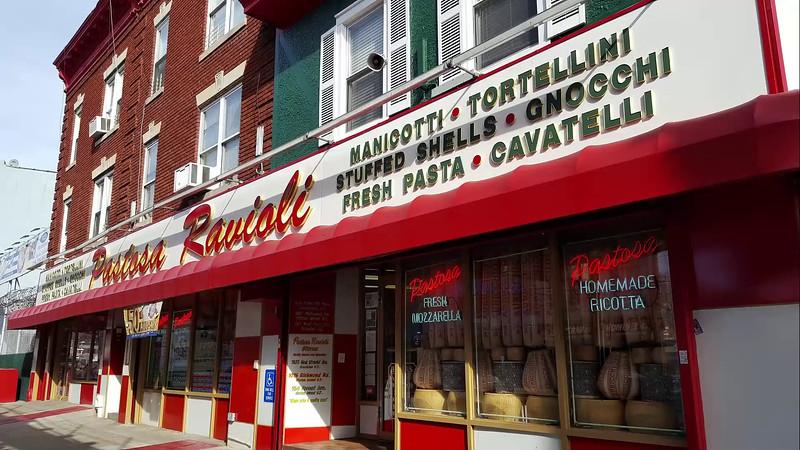Food Run to Pastosa Ravioli.. Great Take home Italian Food,  Ahh Brooklyn !!