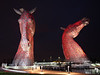 Kelpies at night 5