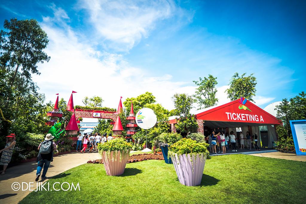 Singapore Garden Festival 2016 - Entrance