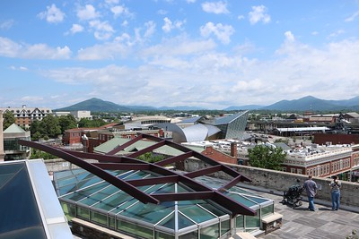 Roof Top of Center in the Square, Roanoke, VA