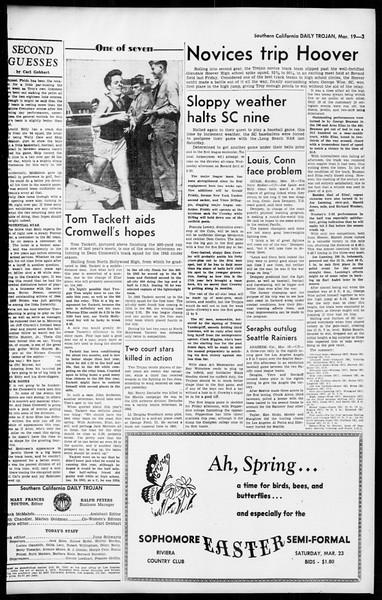 Daily Trojan, Vol. 36, No. 81, March 19, 1945