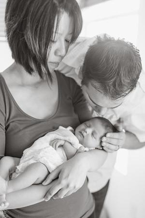 Kevin & Amber Newborn