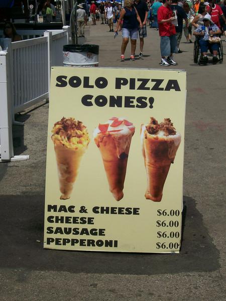 Solo Pizza Cones