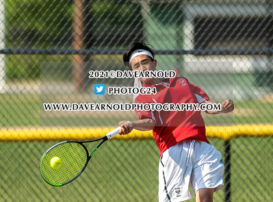 5/26/2021 - Boys Varsity Tennis - Milton vs Needham