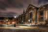 Copenhagen University at Night