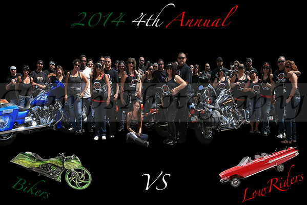 4th Annual Bikers vs LowRiders group