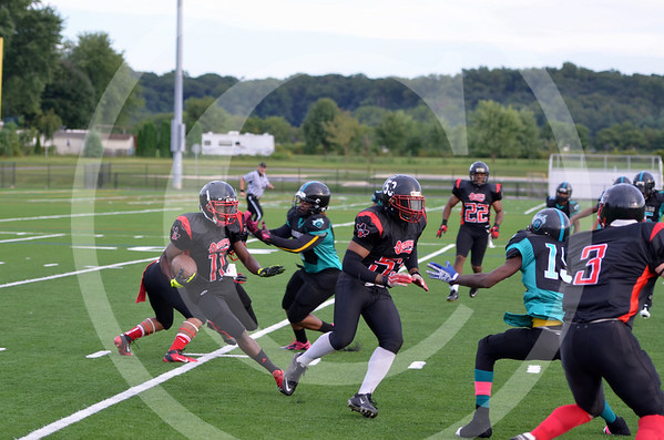 DMV Jaguars and Red City Outlaws 9-7-13