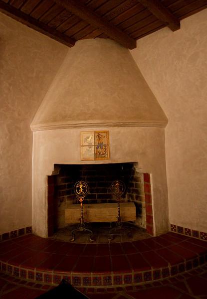 Fireplace. Scotty's castle.