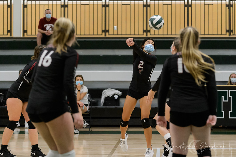 Tigard HS Girls Volleyball vs Tualatin HS
