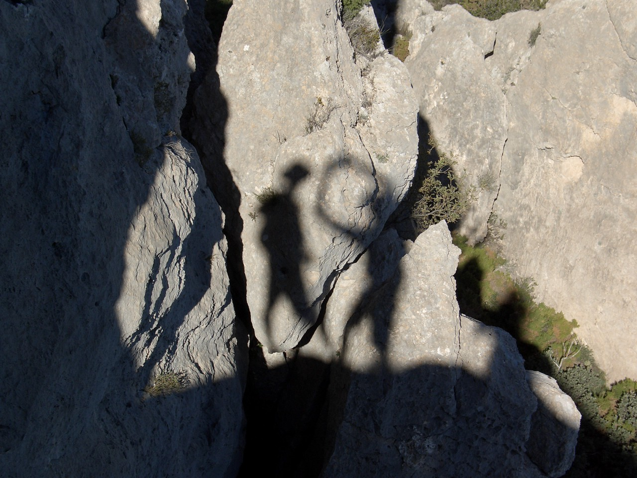 Shadows on the Puig Campana