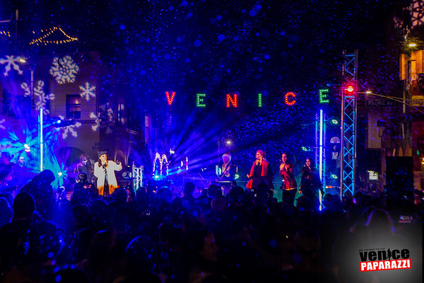 8th Annual Venice Holiday Lighting Sign - All event photos