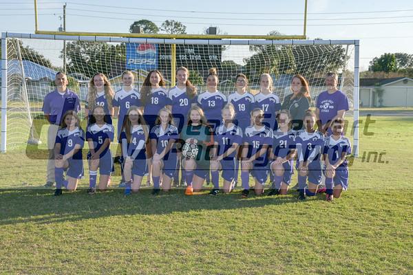 JV Girls Soccer 1.14.19