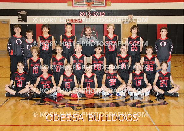 2018-2019 OMS Boys Basketball