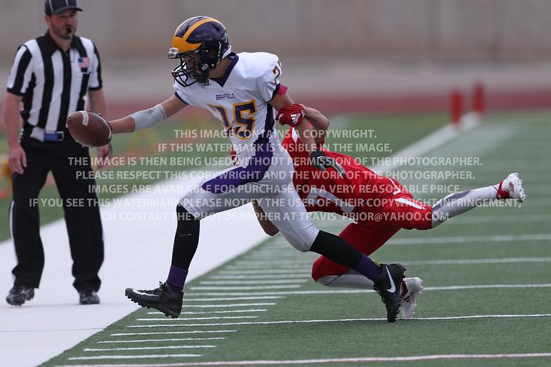 September 4, 2018 Bayfield High School JV Football vs Durango
