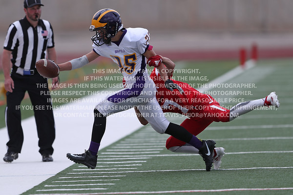 September 4, 2018 Bayfield High School JV Football vs Durango