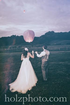 Tyler & Shawn Creative Wedding Photos