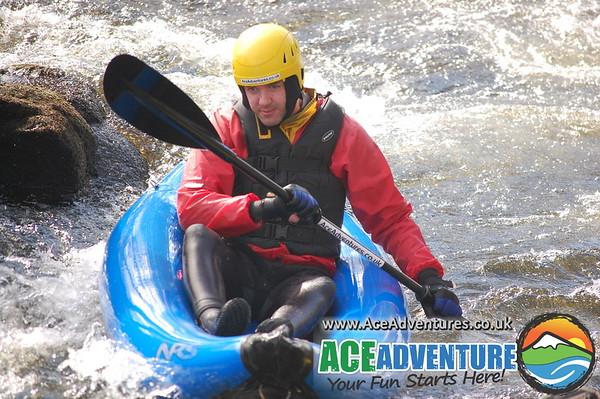 04th April 2013 - canoe/ kayak River Findhorn