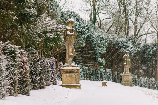 Zamek Valtice :: zima 2015