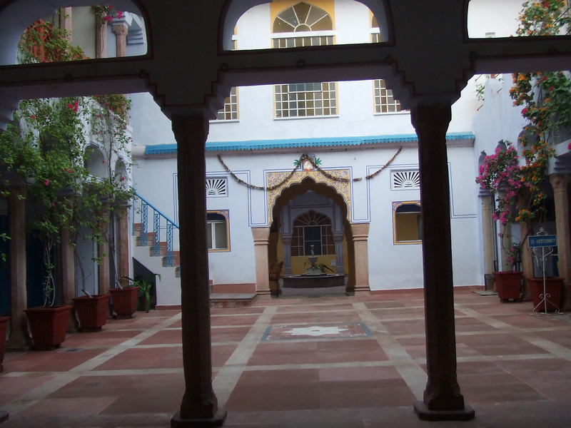 Hotel Diggi, an old former palace fort, in Jaipur